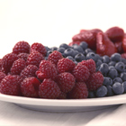 Organic blueberries and raspberries from Vital Choice
